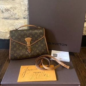 Louis Vuitton Bel Air France Crossbody Purse LV